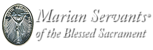 Marian Servants of the Blessed Sacrament | St. Augustine, Florida